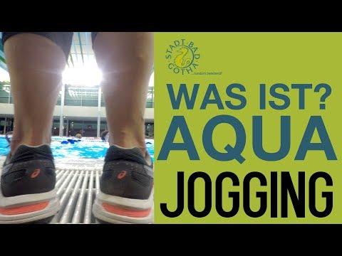 Jogging im Wasser? Geht das? Ja! Aquajogging ist gesund. Wir zeigen wie es geht.