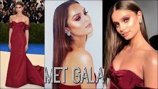 Taylor Hill Met Gala 2017 Tutorial  PROM/Red Carpet Makeup💄