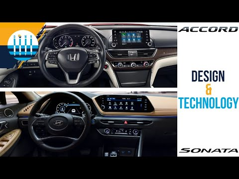 Hyundai Sonata vs Honda Accord: Technology and Design Comparison