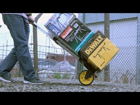 Stanley FT503 Folding Hand Truck - FIRST LOOK!