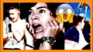 10 times One Direction got scared
