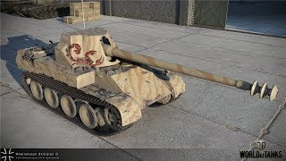 Красиво оформил 9 фрагов на Rheinmetall Skorpion G в World Of Tanks