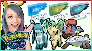 NEW LURE MODULES EVOLVE LEAFEON, GLACEON, MAGNEZONE, & PROBOPASS IN POKÉMON GO!