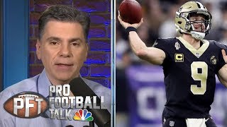 Saints' Watson calls out Roger Goodell over no-call silence | Pro Football Talk | NBC Sports