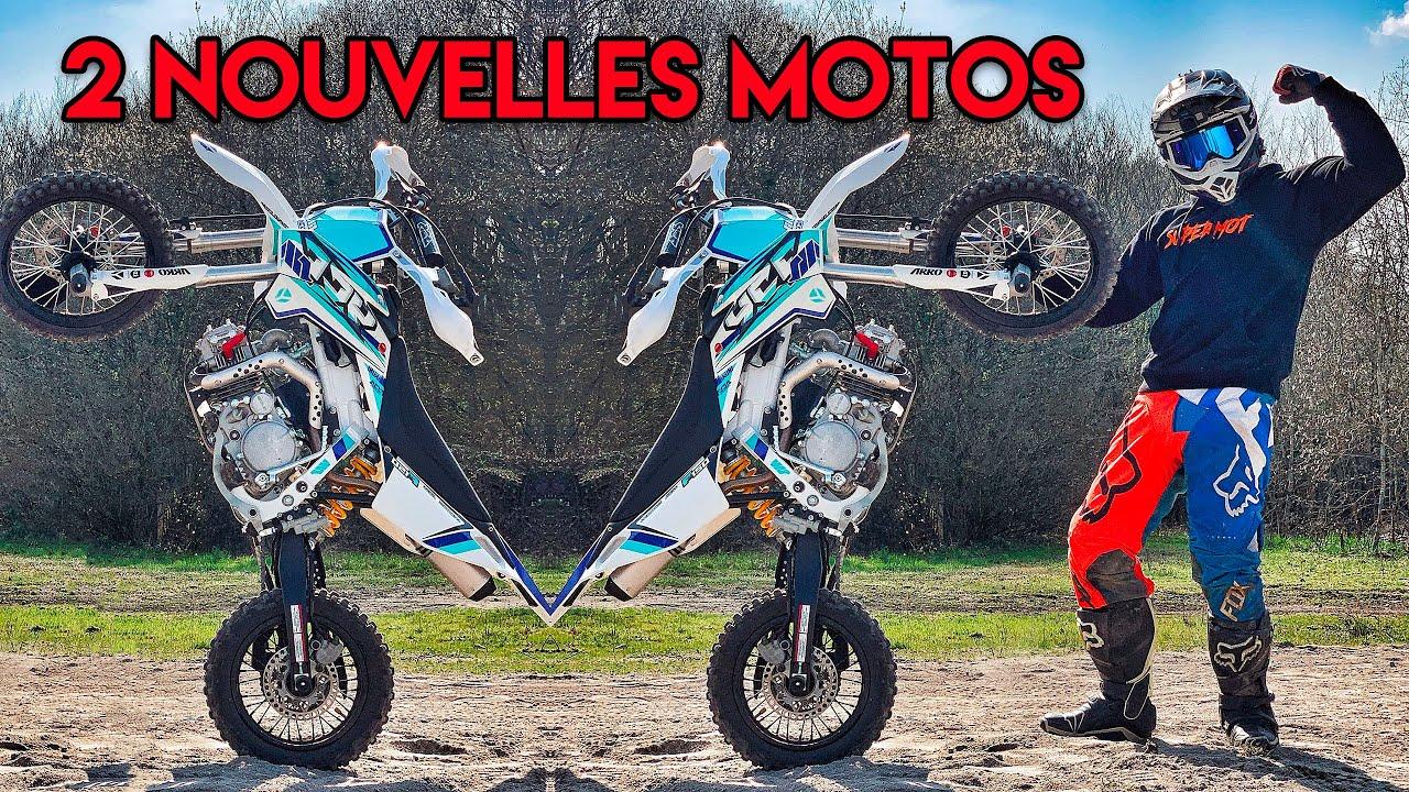 DEUX NOUVELLES MOTOS !