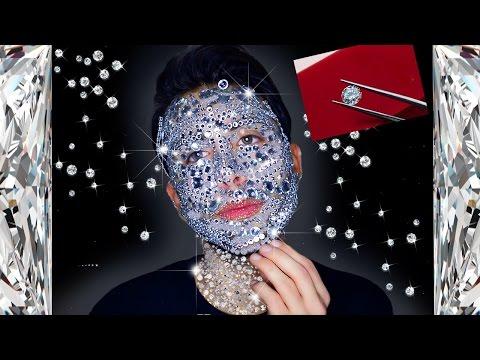Maschera del prezzemolo di persona crema aspra