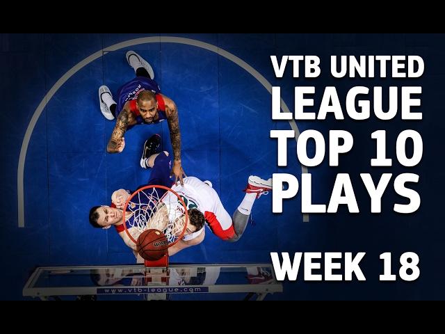 VTB United League Top 10 Plays Week 18 (EN)