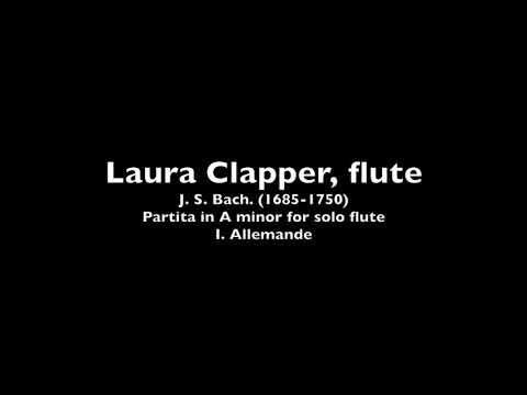J. S. Bach, Partita in A Minor: I. Allemande