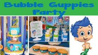 Bubble Guppies & Under The Sea Party | #50