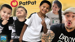 ITS THE FRESH OUTFIT FOR ME! PAT PAT CLOTHING HAUL! DINGLEHOPPERZ VLOG #AD @patpatmomsays