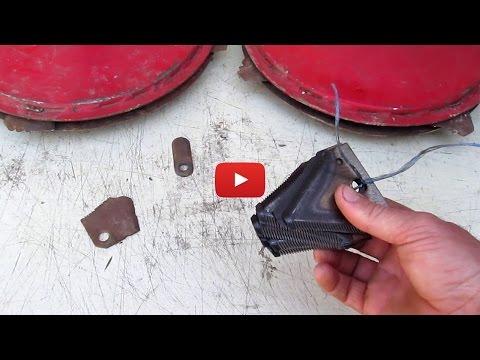 Ножи для роторной косилки мотоблока