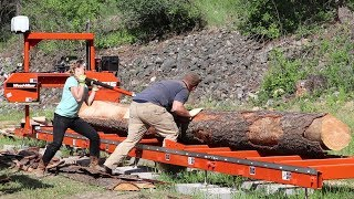 DREAM COMES TRUE: Young Couple Gets Sawmill to Build Debt-Free Home