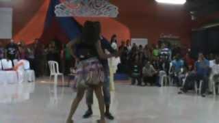 preview picture of video 'Charis Mendoza 1er escrutinio patronales Jima Abajo 2014'
