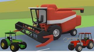 #Tractors, Farm Machinery, Excavators, Bulldozer   Street Vehicles for Children   Video For kid
