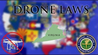 Where Can I Fly in Virginia? - Every Drone Law 2019 - Virginia Beach and Norfolk (Episode 46)