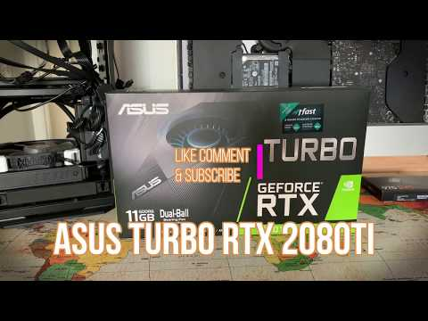 ASUS TURBO RTX 2080 TI DDR6 11GB