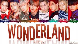 ATEEZ (에이티즈)   'WONDERLAND' [Color Coded_Han_Rom_Eng]