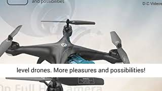 Holy Stone HS120D FPV Drone with Camera for Adults 1080p HD Live Video and GPS Return Home
