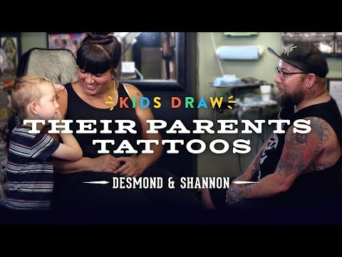 Desmond Designs a Tattoo for His Mom