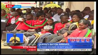 Queen's Baton arrives in Kenya and is set to make rounds in Rift Valley