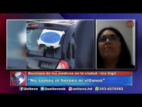 Iris Vigil, Presidenta de Círculo Médico de Villa María