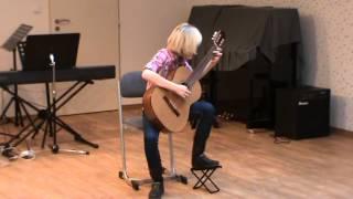 Okresní kolo soutěže ve hře na kytaru 19. 2. 2014