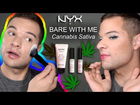 Bare With Me Cannabis Sativa Seed Oil Radiant Perfecting Primer by NYX Professional Makeup #2