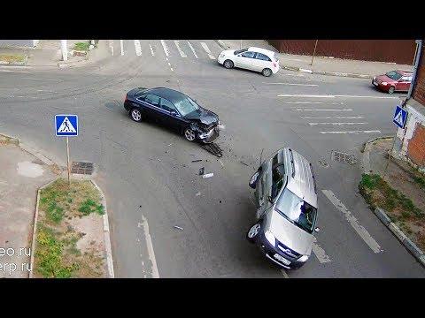 """Не увидел знак """"Стоп"""" на перекрёстке в Серпухове"""