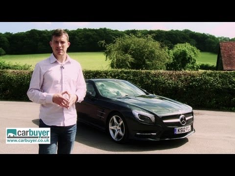 Mercedes SL-Class convertible review - CarBuyer