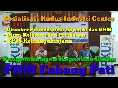 PKU - PT. PNM (Persero) Cabang Pati bersama DISNAKER UKM, Dinas Kelautan dan Perikanan, BPJS TK