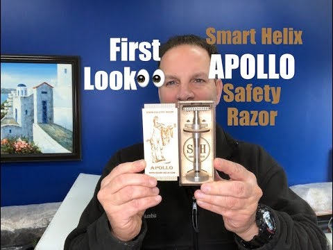 First Look: APOLLO Stainless Steel Safety Razor