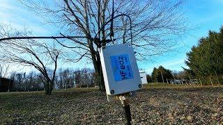HFedz End Fed Antenna 10-160 SWR Test