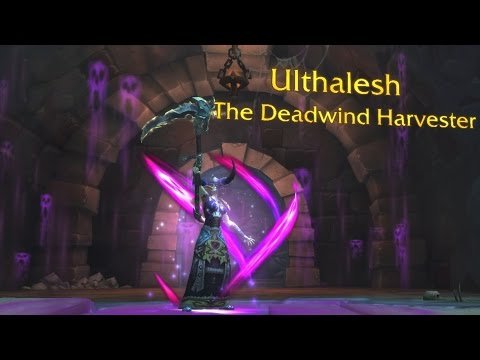 The Story of Ulthalesh, the Deadwind Harvester