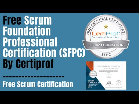 Free Scrum Foundation Professional Certification By Certiprof ...