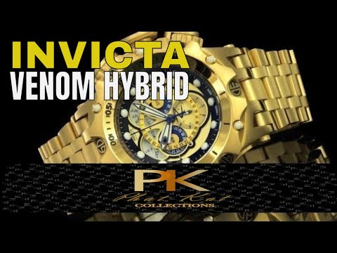 Invicta Watches Review : Invicta Venom Hybrid Watch Review
