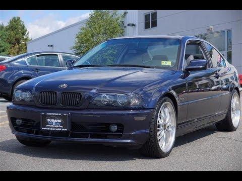 2002 BMW 3-Series 325Ci Coupe