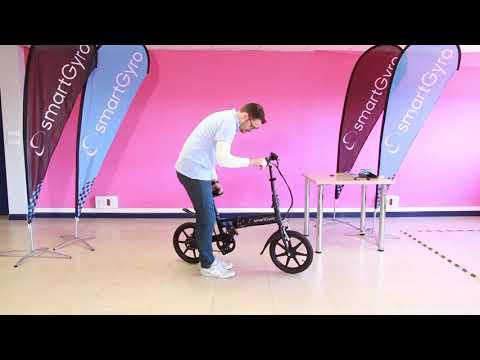 Bicicleta eléctrica Plata SmartGyro