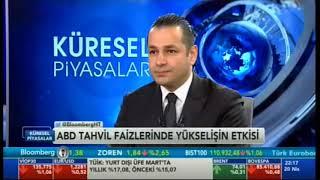 20.04.2018 - Bloomberg HT - Küresel Piyasalar - Araştırma Müdürü Dr. Tuğberk Çitilci