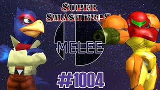Smash Melee [20XX] Go Go Bounty Hunters! - Falco vs Samus   #1004