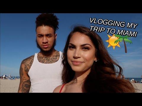 I Vlogged My Trip To Miami (: