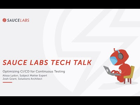 Tech Talk: Optimizing CI/CD for Continuous Testing- Environment and Feature Management Related YouTube Video