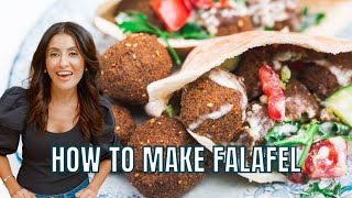 How To Make Fresh Falafel From Scratch | The Mediterranean Dish