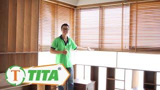 Rèm Cửa Sổ Bằng Gỗ Tự Động Thông Minh www.tintam.vn