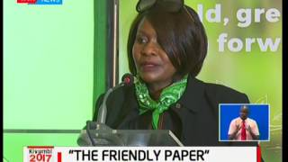 Safricom launches Eco friendly paper to replace plastic bags used in their retail shops
