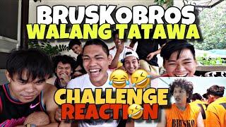BRUSKOBROS REACT TO WALANG TATAWA CHALLENGE (BRUSKO INMATE)