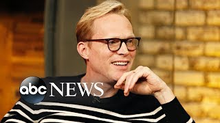 'Solo' star Paul Bettany says his daughter likes him better when he's 'purple'