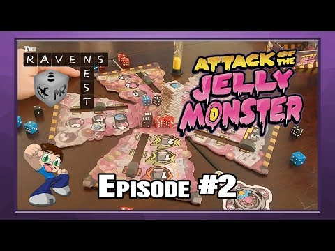The Raven's Nest - Ep 2 - Attack of the Jelly Monster