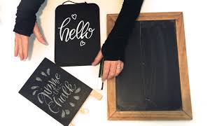 Porous Vs. Nonporous Chalkboards + How To Season Your Board