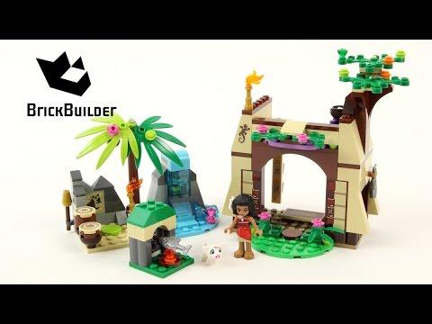 Vidéo LEGO Disney 41149 : L'aventure sur l'île de Vaiana