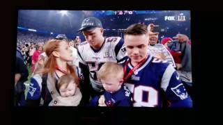 New England Patriots win Superbowl 51 - Roger Goodell being boo